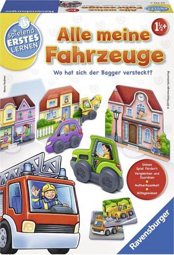 Ravensburger Spiel, »Alle meine Fahrzeuge«, Made in Europe, FSC® - schützt Wald - weltweit
