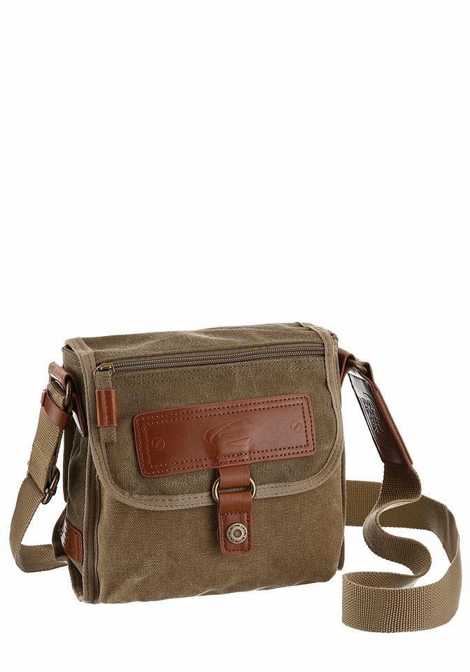 camel active Umhängetasche »BRASILIA«, Mini Bag mit praktischen Einteilungen