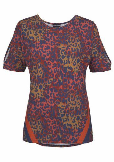 Bruno Banani Print-Shirt, Cold-Shoulder