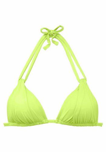 Damen s.Oliver RED LABEL Beachwear Triangel-Top Spain grün | 04893848590651