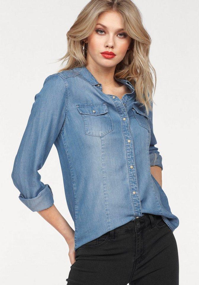 Vero Moda Jeansbluse »VERA« online kaufen | OTTO