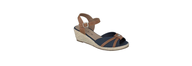 MUSTANG SHOES Damen Sandalette aus feinem Textil Austrittsspeicherstellen Geschäft Outlet Brandneue Unisex Verkauf Online-Shopping Spielraum Neueste GYQW8rSC