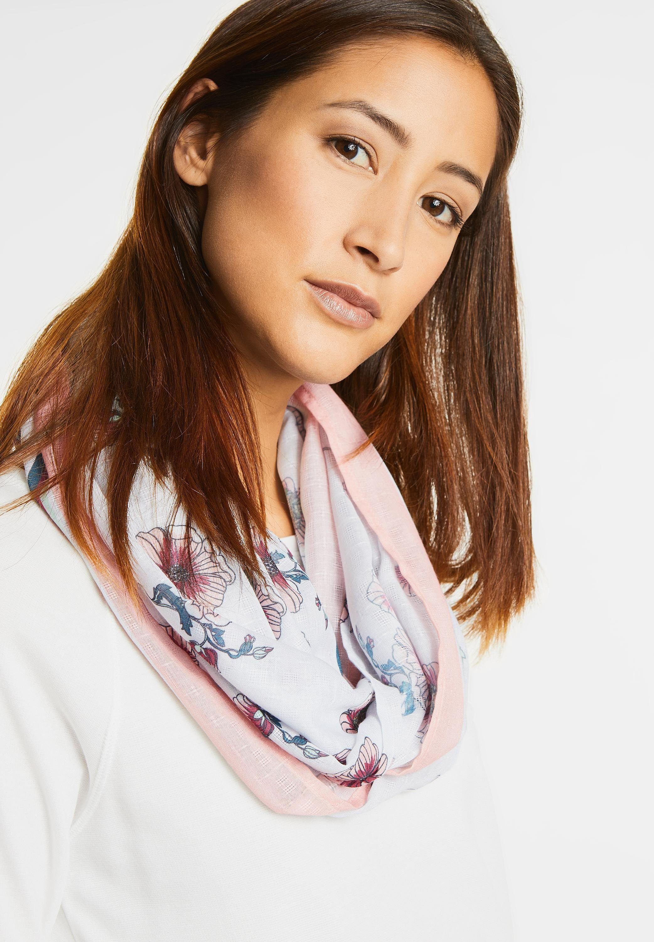 Street One Loop mit Blumenprint Dalina