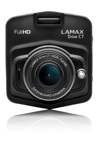 LAMAX »C7« Dashcam (mit komplettem Zubehör)