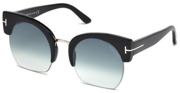 Tom Ford Damen Sonnenbrille » FT0583«, schwarz, 01A - schwarz/grau