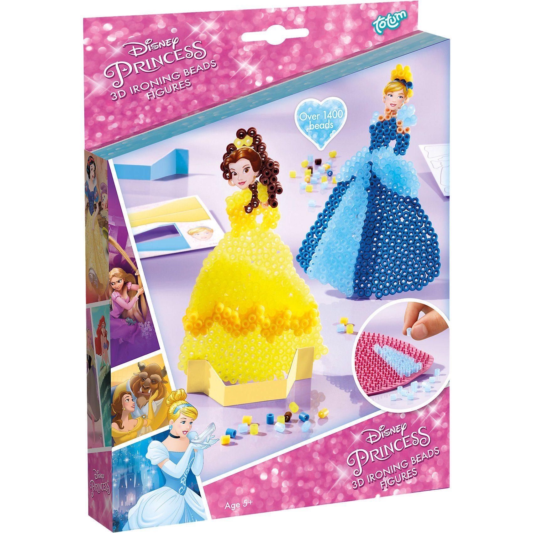 totum Disney Princess 3D Bügelperlen Figuren