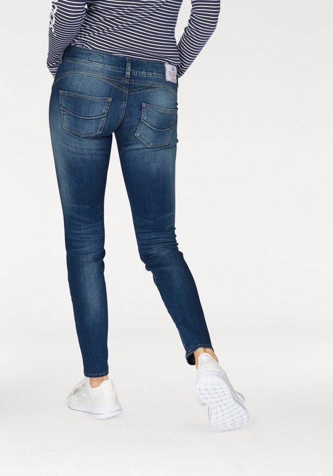 herrlicher slim fit jeans gila slim mit seitlichem keil. Black Bedroom Furniture Sets. Home Design Ideas