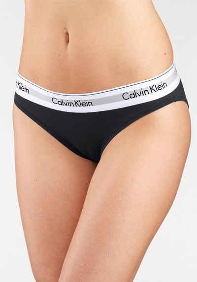 Calvin Klein Bikinislip »MODERN COTTON« mit breitem Bündchen