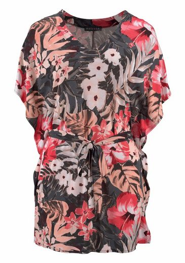 Melrose Tunikashirt, mit Tropical-Print