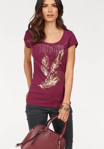 Laura Scott T-Shirt, mit modischem Druck