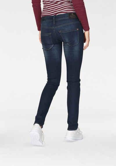 Günstig Kaufen Echt Cropped Skinny-Jeans mit niedrigem Bund Vivance Erscheinungsdaten Authentisch Auslasszwischenraum Store Bilder MBQyTOq