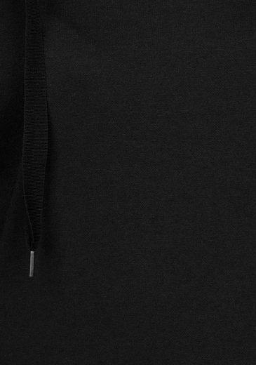Bench Sweatkleid, mit weitem Stehkragen