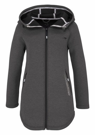 KangaROOS Sweatjacke, in Oversize Form für Indoor und Outdoor
