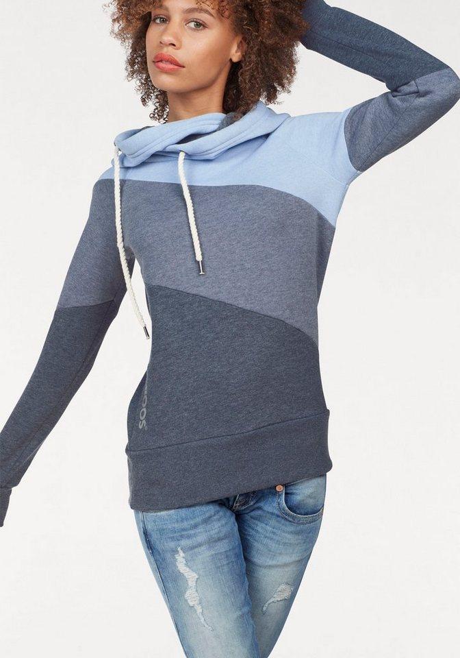 kangaroos kapuzensweatshirt im colorblocking style online. Black Bedroom Furniture Sets. Home Design Ideas