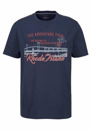Rhode Island T-Shirt, mit Druck