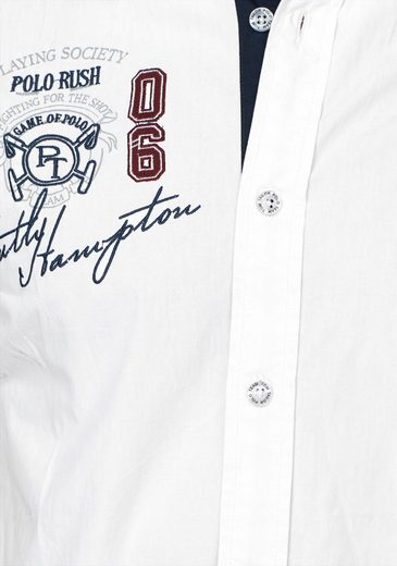 Polo Mit Kurzarmhemd Tom Tailor Stickerei Team ZWTq7nU