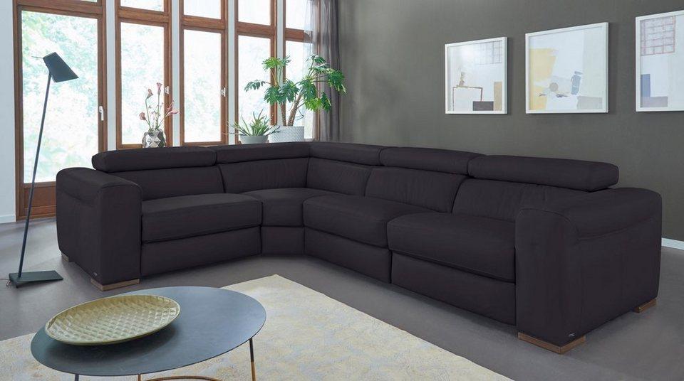 natuzzi editions leder polsterecke umberto mit elektrischer relaxfunktion online kaufen otto. Black Bedroom Furniture Sets. Home Design Ideas