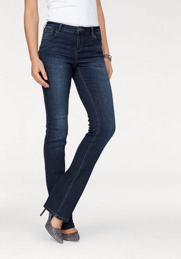 Arizona Bootcut-Jeans Ultra-Stretch, Mid-Waist