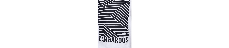 KangaROOS Rundhalsshirt, mit großem Front-Print