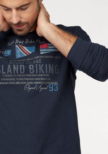 Rhode Island Langarmshirt