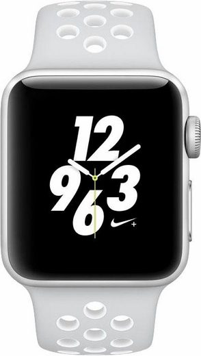 AppleWatch Nike+ Aluminiumgehäuse Silber, 38mm, mit Nike Sportarmband