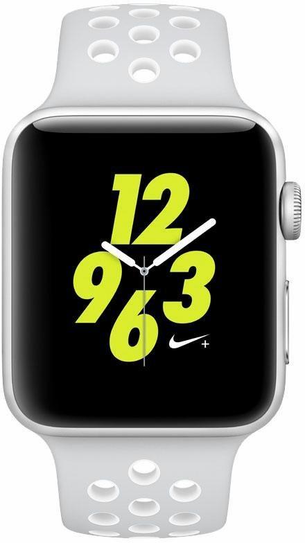 apple watch nike aluminiumgeh use silber 42mm mit nike. Black Bedroom Furniture Sets. Home Design Ideas