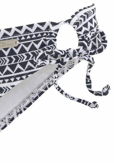 Venice Beach Bikini-Hose Ethno mit seitlichen Bindebändern