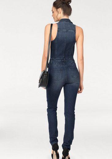 Melrose Overall, mit Zipper-Details