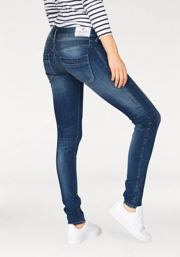 Herrlicher Slim-fit-Jeans Mora Slim, mit Push-Up-Effekt