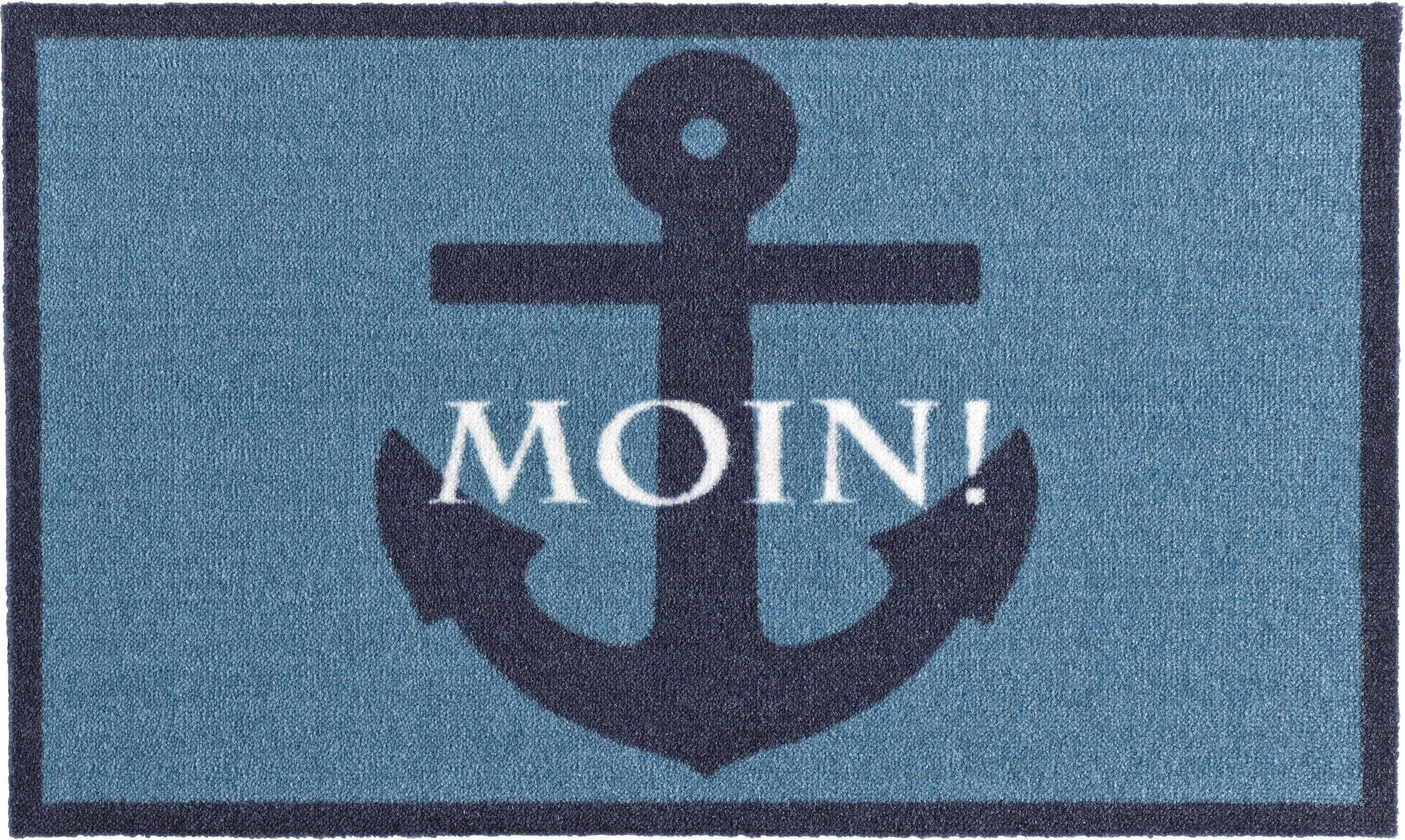 Fußmatte »Moin«, Zala Living, rechteckig, Höhe 7 mm, rutschhemmend beschichtet