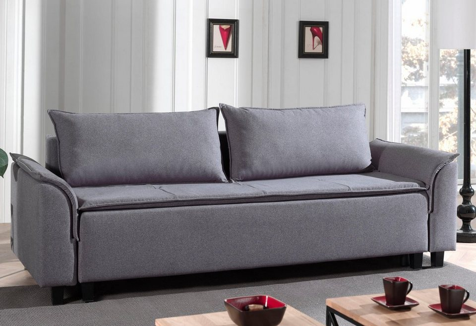 home affaire schlafsofa sherman zum ausklappen mit federkern polsterung online kaufen otto. Black Bedroom Furniture Sets. Home Design Ideas