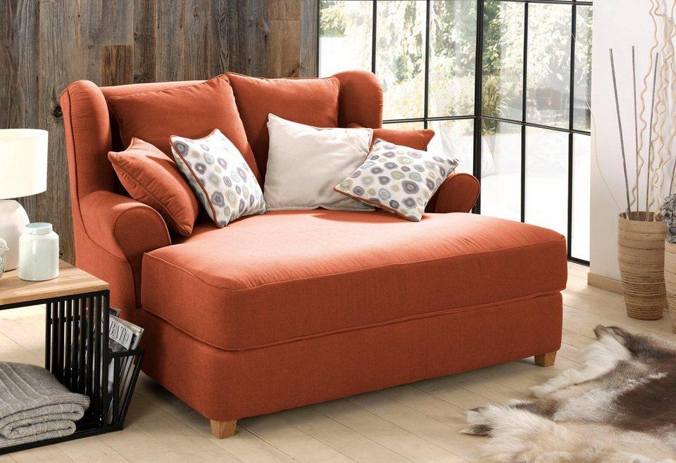 home affaire mega sessel still in love mit federkern polsterung f r zwei personen geeignet. Black Bedroom Furniture Sets. Home Design Ideas