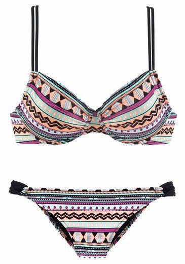 Bench. Bügel-Bikini im trendigen Ethno-Look