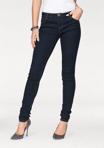 Arizona Skinny-fit-Jeans Ultra-Stretch, Mid Waist