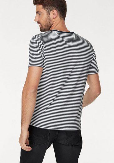 Rhode Island T-Shirt, Streifendesign