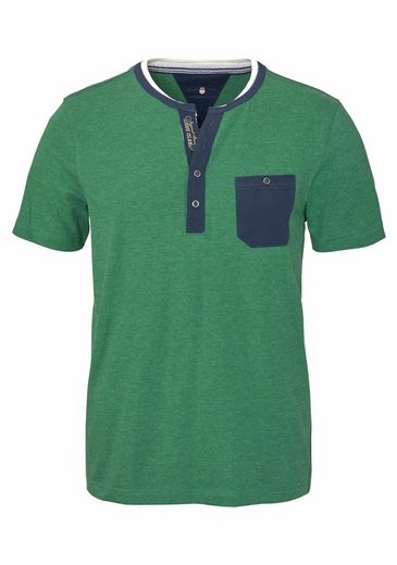 Rhode Island T-Shirt, Zweifarbige Optik