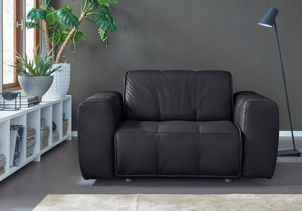 Natuzzi editions sessel alessio in zwei lederqualit ten for Mobelhersteller italien
