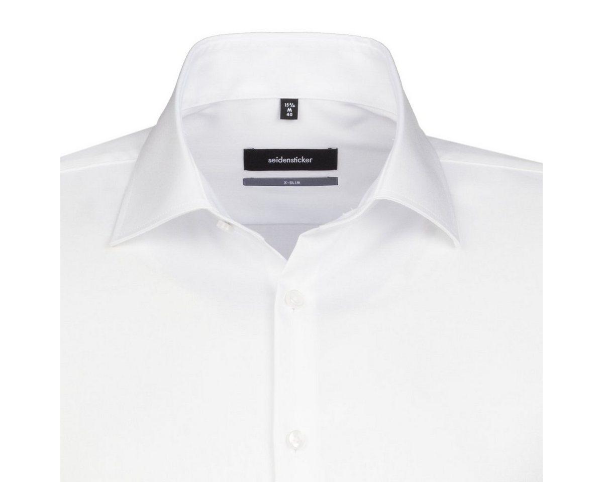 - Herren seidensticker Businesshemd X-Slim weiß | 04048869240430