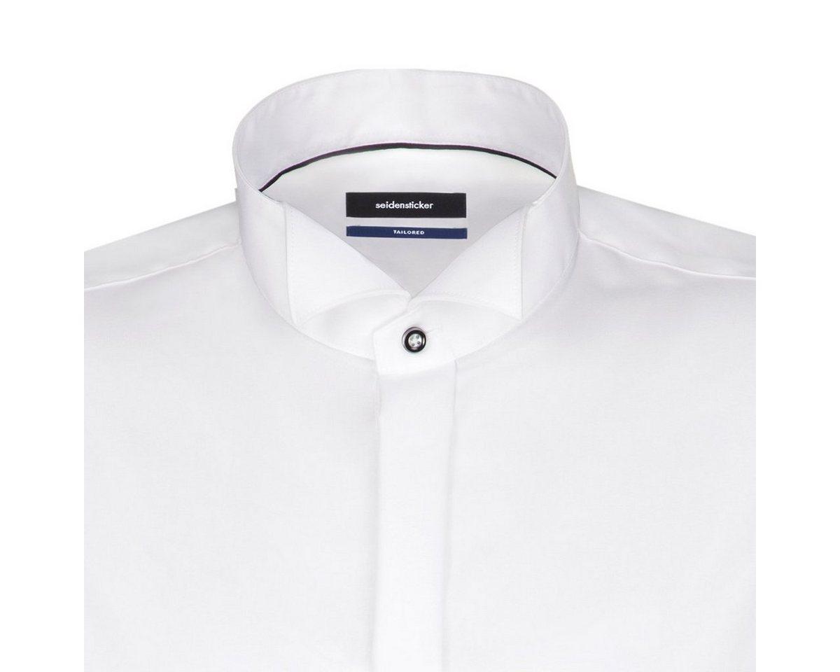 - Herren seidensticker Businesshemd Tailored, Kläppchen-Kragen blau, braun, grau, grün, orange, rosa, rot, schwarz, weiß | 04048871494692