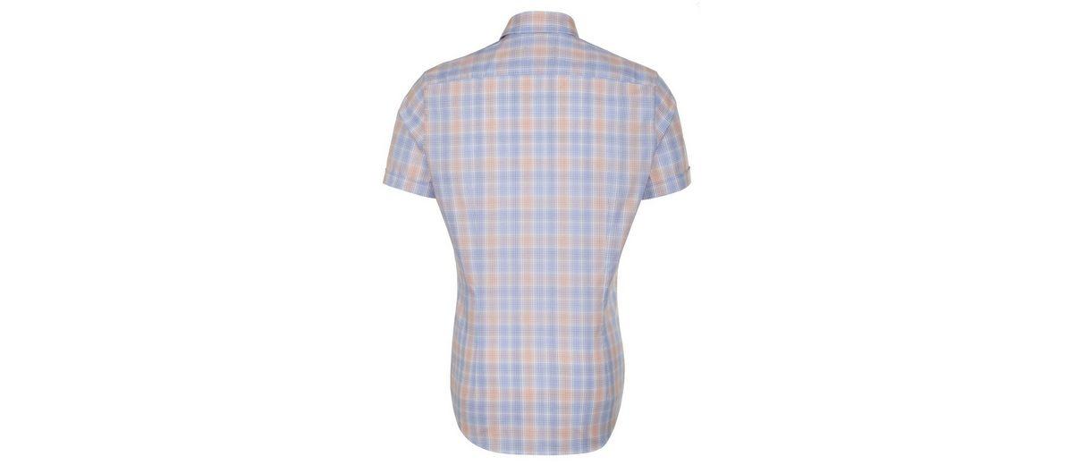 seidensticker Businesshemd Slim, Button-Down-Kragen