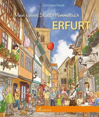 Buch mit Papp-Einband »Mein kleines Stadt-Wimmelbuch Erfurt«