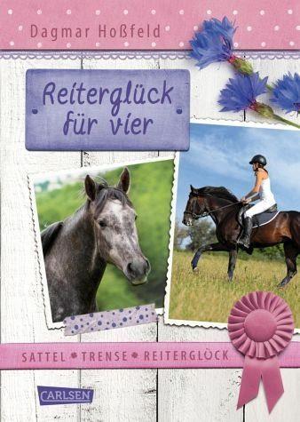 Gebundenes Buch »Reiterglück für vier / Sattel, Trense,...«