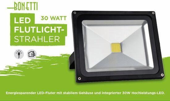 LED Flutlichtstrahler, 1-flammig