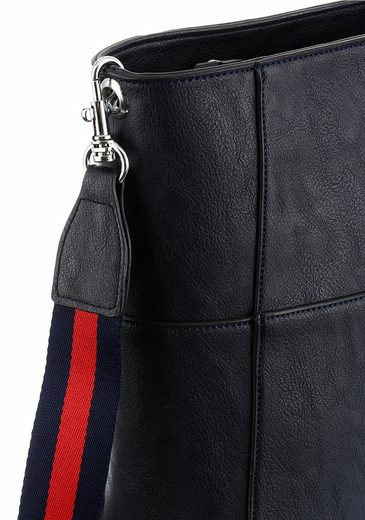 Tom Tailor Umhängetasche SINA, crossbody mit zweifarbigem Schultergurt