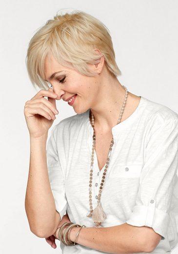 STOOKER WOMEN Blusenshirt Marie, mit Knopfleiste und aus tollem Slubyarn