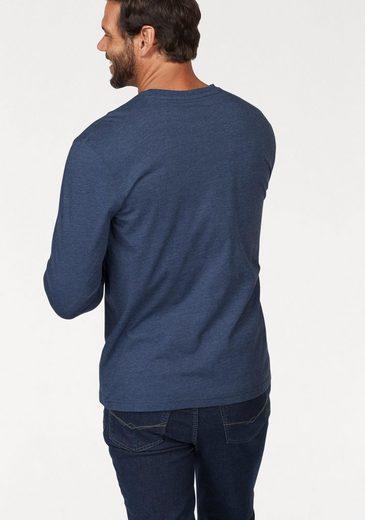 Man's World Langarmshirt (Packung, 2 tlg), Basic