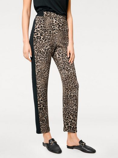 B.C. BEST CONNECTIONS by Heine Druckhose mit Animal-Print