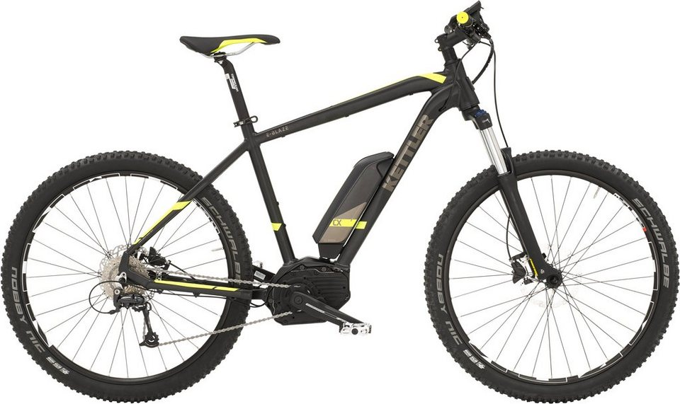 kettler he hardtail mtb e bike mittelmotor 36v 250w 27 5 zoll 9 gg shimano deore freilauf e. Black Bedroom Furniture Sets. Home Design Ideas