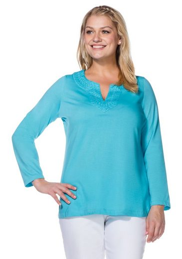 sheego Casual Langarmshirt