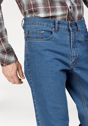 Arizona Stretch-Jeans Willis, Basic im Straight Fit